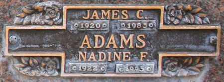 ADAMS, NADINE F - Maricopa County, Arizona | NADINE F ADAMS - Arizona Gravestone Photos