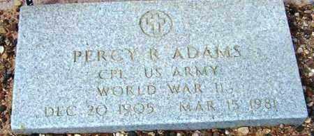 ADAMS, PERCY R. - Maricopa County, Arizona | PERCY R. ADAMS - Arizona Gravestone Photos