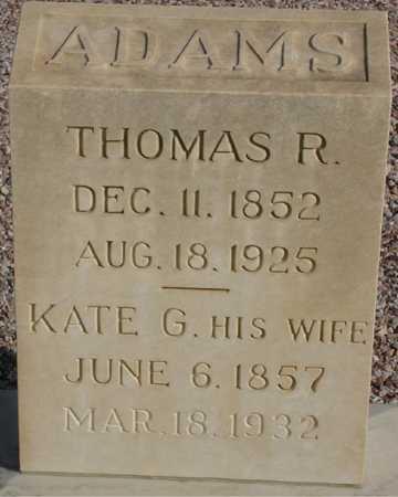 ADAMS, KATE G. - Maricopa County, Arizona   KATE G. ADAMS - Arizona Gravestone Photos
