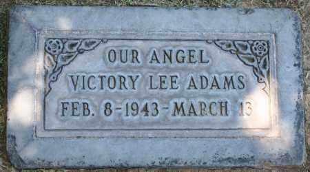 ADAMS, VICTORY LEE - Maricopa County, Arizona | VICTORY LEE ADAMS - Arizona Gravestone Photos