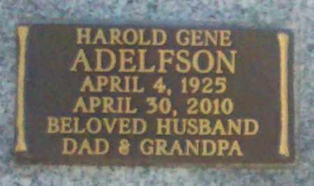 ADELFSON, HAROLD GENE - Maricopa County, Arizona | HAROLD GENE ADELFSON - Arizona Gravestone Photos