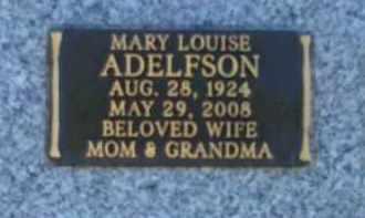 ADELFSON, MARY LOUISE - Maricopa County, Arizona | MARY LOUISE ADELFSON - Arizona Gravestone Photos