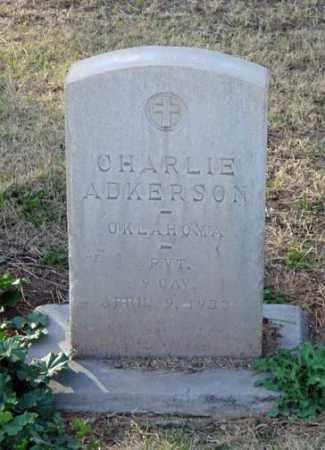 "ADKERSON, CHARLES ""CHARLIE"" - Maricopa County, Arizona | CHARLES ""CHARLIE"" ADKERSON - Arizona Gravestone Photos"