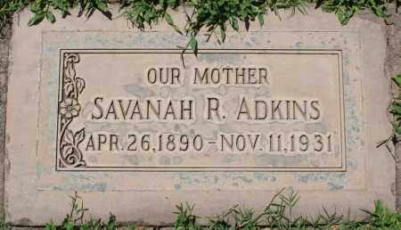 ADKINS, SAVANAH R - Maricopa County, Arizona | SAVANAH R ADKINS - Arizona Gravestone Photos