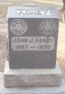 ADNEY, JOHN J. - Maricopa County, Arizona | JOHN J. ADNEY - Arizona Gravestone Photos