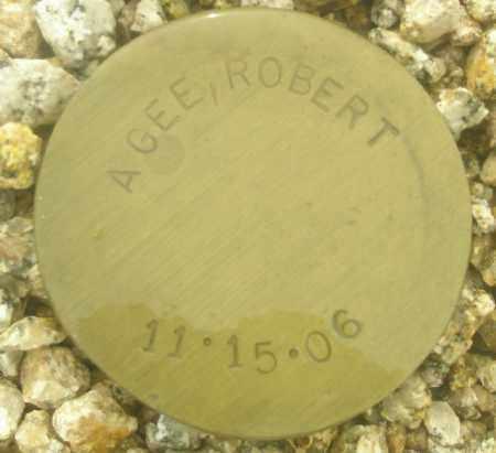 AGEE, ROBERT - Maricopa County, Arizona | ROBERT AGEE - Arizona Gravestone Photos