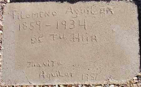 AGUILAR, FILOMENO - Maricopa County, Arizona | FILOMENO AGUILAR - Arizona Gravestone Photos