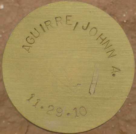AGUIRRE, JOHNN A. - Maricopa County, Arizona | JOHNN A. AGUIRRE - Arizona Gravestone Photos