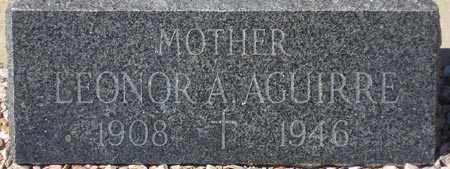 AGUIRRE, LEONOR A. - Maricopa County, Arizona   LEONOR A. AGUIRRE - Arizona Gravestone Photos