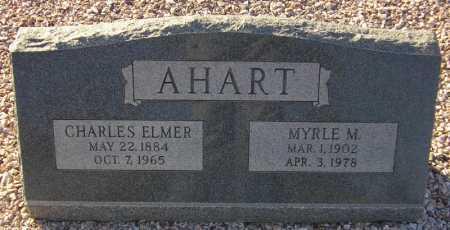 AHART, MYRLE M. - Maricopa County, Arizona | MYRLE M. AHART - Arizona Gravestone Photos