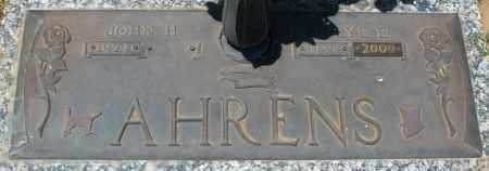 AHRENS, JOHN H. - Maricopa County, Arizona | JOHN H. AHRENS - Arizona Gravestone Photos