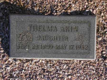 AKIN, THELMA - Maricopa County, Arizona   THELMA AKIN - Arizona Gravestone Photos