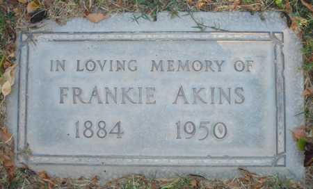 AKINS, FRANKIE - Maricopa County, Arizona | FRANKIE AKINS - Arizona Gravestone Photos