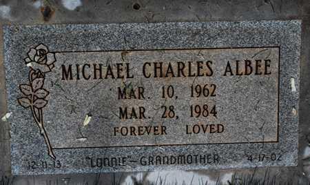 ALBEE, MICHAEL CHARLES - Maricopa County, Arizona | MICHAEL CHARLES ALBEE - Arizona Gravestone Photos