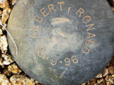 ALBERT, RONALD - Maricopa County, Arizona | RONALD ALBERT - Arizona Gravestone Photos