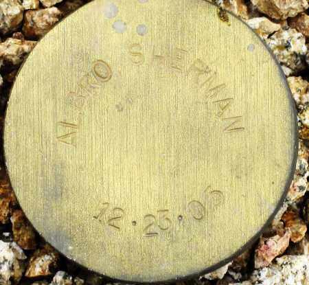 ALBRO, SHERMAN - Maricopa County, Arizona | SHERMAN ALBRO - Arizona Gravestone Photos