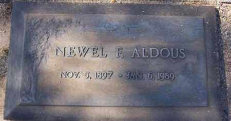 ALDOUS, NEWEL FREDRICK - Maricopa County, Arizona | NEWEL FREDRICK ALDOUS - Arizona Gravestone Photos