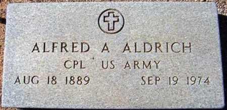 ALDRICH, ALFRED A. - Maricopa County, Arizona | ALFRED A. ALDRICH - Arizona Gravestone Photos