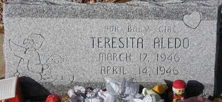 ALEDO, TERESITA - Maricopa County, Arizona | TERESITA ALEDO - Arizona Gravestone Photos