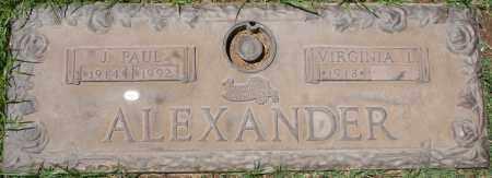 ALEXANDER, VIRGINIA L. - Maricopa County, Arizona | VIRGINIA L. ALEXANDER - Arizona Gravestone Photos