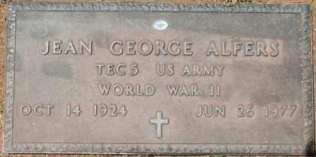 ALFERS, JEAN GEORGE - Maricopa County, Arizona | JEAN GEORGE ALFERS - Arizona Gravestone Photos