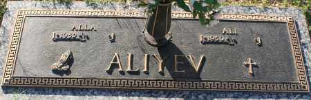 ALIYEV, ALLA - Maricopa County, Arizona | ALLA ALIYEV - Arizona Gravestone Photos