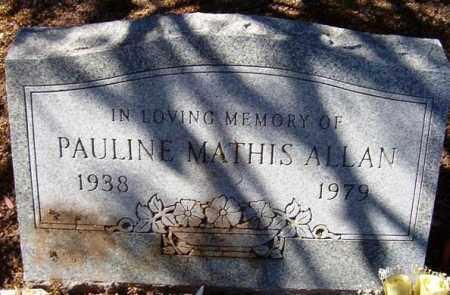 ALLAN, PAULINE - Maricopa County, Arizona   PAULINE ALLAN - Arizona Gravestone Photos
