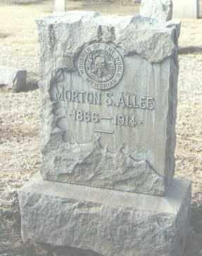 ALLEE, MORTON S. - Maricopa County, Arizona   MORTON S. ALLEE - Arizona Gravestone Photos