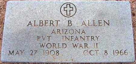 ALLEN, ALBERT BEN - Maricopa County, Arizona | ALBERT BEN ALLEN - Arizona Gravestone Photos