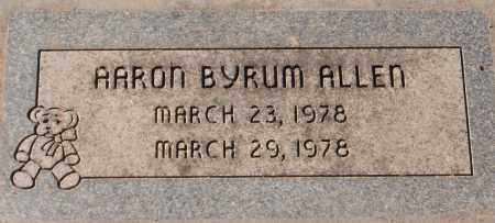 BYRUM ALLEN, AARON - Maricopa County, Arizona | AARON BYRUM ALLEN - Arizona Gravestone Photos