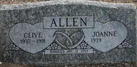 ALLEN, CLIVE - Maricopa County, Arizona | CLIVE ALLEN - Arizona Gravestone Photos