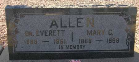ALLEN, MARY C. - Maricopa County, Arizona | MARY C. ALLEN - Arizona Gravestone Photos