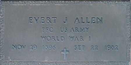 ALLEN, EVERT J - Maricopa County, Arizona | EVERT J ALLEN - Arizona Gravestone Photos