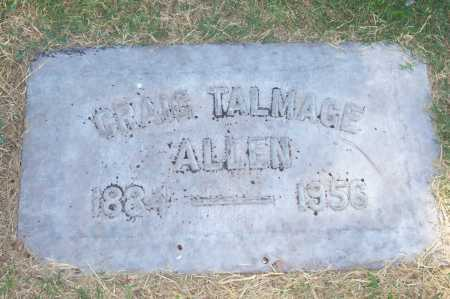 ALLEN, GRAIG TALMAGE - Maricopa County, Arizona | GRAIG TALMAGE ALLEN - Arizona Gravestone Photos