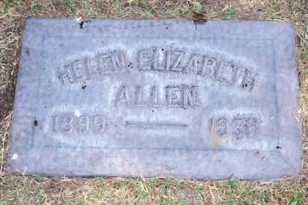 ALLEN, HELEN ELIZABETH - Maricopa County, Arizona | HELEN ELIZABETH ALLEN - Arizona Gravestone Photos
