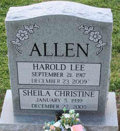 ALLEN, SHEILA CHRISTINE - Maricopa County, Arizona | SHEILA CHRISTINE ALLEN - Arizona Gravestone Photos