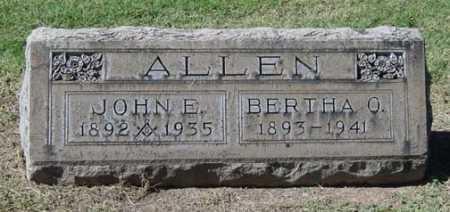 ALLEN, BERTHA O. - Maricopa County, Arizona   BERTHA O. ALLEN - Arizona Gravestone Photos