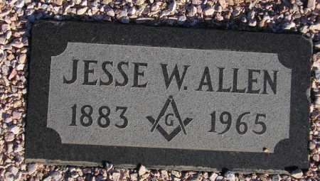 ALLEN, JESSE W. - Maricopa County, Arizona   JESSE W. ALLEN - Arizona Gravestone Photos
