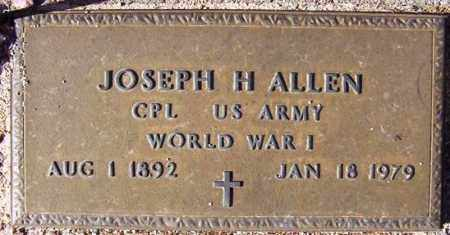 ALLEN, JOSEPH HERMAN - Maricopa County, Arizona | JOSEPH HERMAN ALLEN - Arizona Gravestone Photos