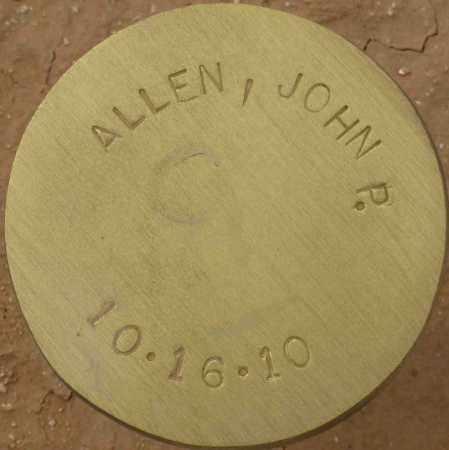 ALLEN, JOHN P. - Maricopa County, Arizona | JOHN P. ALLEN - Arizona Gravestone Photos