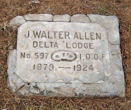 ALLEN, J. WALTER - Maricopa County, Arizona   J. WALTER ALLEN - Arizona Gravestone Photos