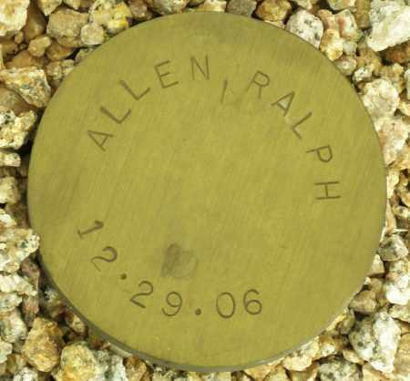 ALLEN, RALPH - Maricopa County, Arizona | RALPH ALLEN - Arizona Gravestone Photos