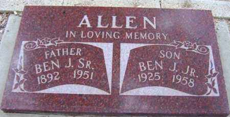 ALLEN, BEN J, SR - Maricopa County, Arizona   BEN J, SR ALLEN - Arizona Gravestone Photos