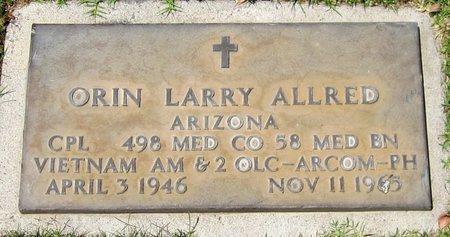ALLRED, OREN LARRY - Maricopa County, Arizona | OREN LARRY ALLRED - Arizona Gravestone Photos