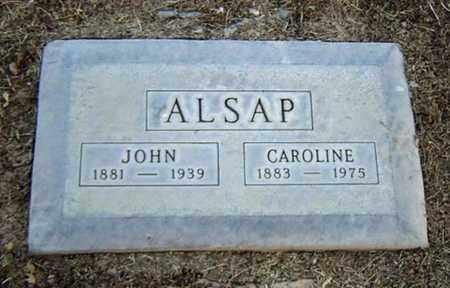 ALSAP, CAROLINE - Maricopa County, Arizona | CAROLINE ALSAP - Arizona Gravestone Photos
