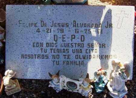 ALVARADO, FELIPE DE JESUS, JR - Maricopa County, Arizona | FELIPE DE JESUS, JR ALVARADO - Arizona Gravestone Photos