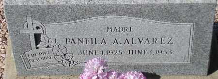 ALVAREZ, PANFILA A. - Maricopa County, Arizona   PANFILA A. ALVAREZ - Arizona Gravestone Photos