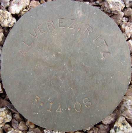ALVEREZ, RITA - Maricopa County, Arizona | RITA ALVEREZ - Arizona Gravestone Photos