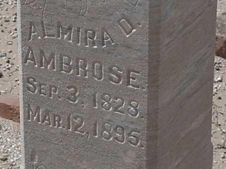 AMBROSE, ALMIRA D - Maricopa County, Arizona | ALMIRA D AMBROSE - Arizona Gravestone Photos
