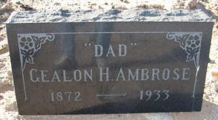 AMBROSE, GEALON H. - Maricopa County, Arizona | GEALON H. AMBROSE - Arizona Gravestone Photos